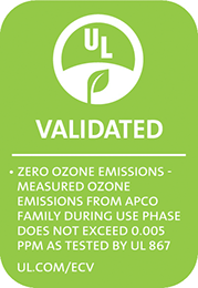 validated ozone free badge